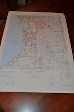 1940's Army topo map (like USGS) Buffalo Southeast New York 5269 IV SE Lake Erie