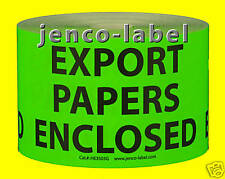 HE3503G, 500 3x5 Export Papers Enclosed Enclosed Label