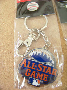 2013 NY New York Mets All-Star Game generic logo key ring with clip