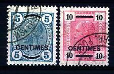 AUSTRIA - Uffici Postali a Creta - 1904 - Francobolli d'Austria del 1904