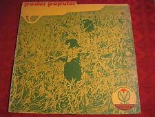 LP PODER POPULAR  Feat. HEINER GOEBBELS Pre-CASSIBER   Berlin Privatpressung