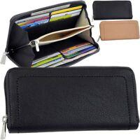 ESPRIT Orya Reißverschluss Geldbörse Portemonnaie Geldbeutel Damen Brieftasche
