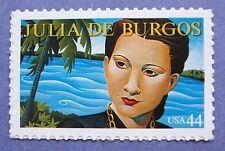 Sc # 4476 ~ 44 cent  Julia de Burgos Issue (bh2)