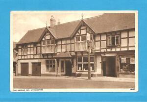 The George Inn, Winchcombe, Gloucestershire, Postcard. 1956.