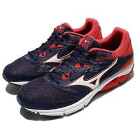Mizuno Wave Surge Navy Red Men Running Shoes Sneakers Trainers J1GC1713-07
