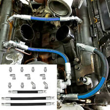 High Pressure Oil Pump Hoses Lines & Crossover Kit for 99-03 Ford 7.3L