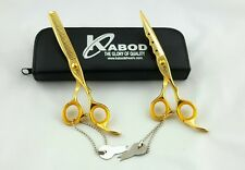 "Professional Hair Cutting  Japanese Scissors Barber Stylist Salon Shears 7"" set"