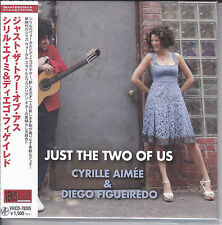"""""""Cyrille Aimee Diego Figueiredo - Just The Two Of Us"""" Japan Venus Records CD New"""