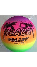 Rainbow Beach Volley Ball  inflatable kids beach ball Pool Ball Size 5 New