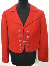 Kurze Damen-Trachten-Blazer aus Schurwolle