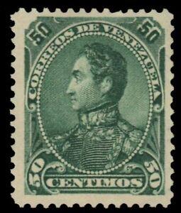 "VENEZUELA 77 (Mi31) - Simon Bolivar ""1882 Green"" (pf47419)"