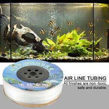100m Fish Tank Airline Tubing Aquarium Oxygen Hose Air Line Pump Tube US