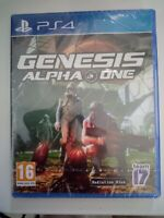 genesis alpha one ps4 ps4 playstation 4 neuf