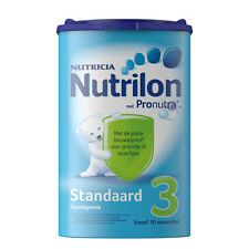 2X Nutrilon 3. 100% original DUTCH Baby Powder. From the Netherlands (2x800gram)