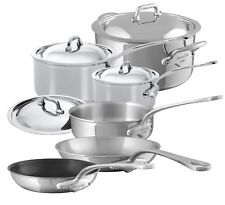 Mauviel M'cook 5 Ply Stainless Steel 10 Piece Cookware Set 5200.23 NEW