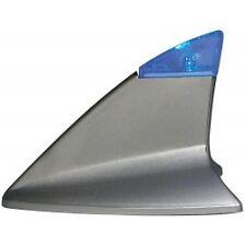 120612  PINNA DA TETTO CON LED LUMINOSO BLU -SHARK FIN-