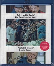 Good Soldier Svejk/Beg To Report Blu-ray remastered English subtitles region ABC