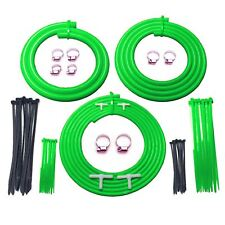 Ford Focus RS MK1 Green Engine Bay Silicone Turbo Hose Car / Dress Up Kit