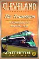 CHARLOTTE North Carolina CRESCENT LTD Southern Railway Train Poster Art Print158