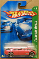 T HUNT TREASURE 11 12 CADILLAC V16 PINK 2007 07 HW HOT WHEELS