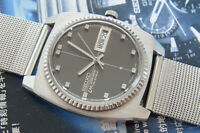 NICE VINTAGE SEIKO LM LORD MATIC 5606-7110 AUTOMATIC 23 JEWELS JAPAN WATCH