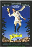 MOON OVER PARADOR MOVIE POSTER Original DS 27x40 RICHARD DREYFUSS 1988