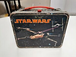 1977 Star Wars Metal Lunch Box (No Thermos)