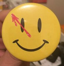 "Watchmen Button Pin Badge 2.25"" Smiley Face DC Doomsday Clock Flash 22 Batman 62"