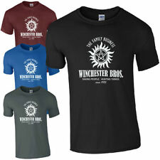 Cotton Regular Size T-Shirts for Men Supernatural