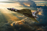 Avro Vulcan XH558 canvas prints various sizes free delivery