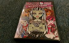 Monster High New Ghoul At School DVD Frankie Stein School Cleo De Nile cartoon