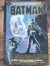 DC Comics Batman 1989 Official Adoption Motion Picture WB