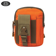 TOURBON Nylon Molle Pouch Tools Carrying Belt Waist Utility Compact Pack Outdoor