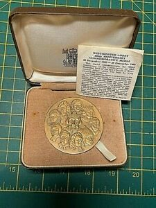 1065 - 1965 Westminster Abbey 900th Anniversary Royal Mint Official Medal Cased