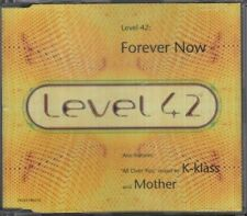 LEVEL 42 Forever Now  CD 4 Tracks, Radio Edit/All Over You-Pharmacy Dub/All Over