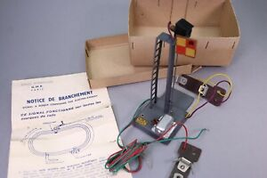 ZA357 GMP Train rail O Signal a disque commande par electro aimant