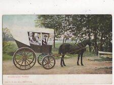 Walchersche Huifkar Netherlands Vintage Postcard 848a