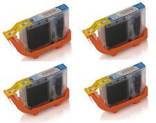 4 X Cian Canon CLI 08PC Foto Pixma IP6600 IP6700 IP7500 MP950 MP960 Pro 9000