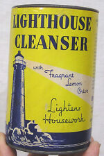Vintage Advertising Can Lighthouse Cleanser Armour & Co. Lighthouse Graphics
