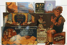 Robert Opie Vintage Advertising Postcard - Inter War Biscuit Tins - NEW