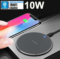 Fast Charging Mat Qi Wireless Charger Pad Dock for iPhone 11 Pro XS Max Samsung