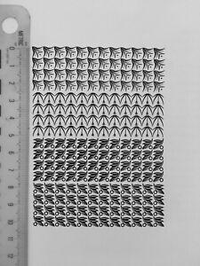 New Letterpress Type - Meet the Bethels. 18 point ornaments