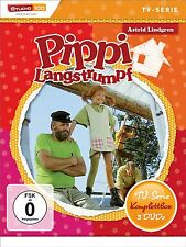 Astrid Lindgren PIPPI LANGSTRUMPF COMPLETO SERIE DE TV 21 EPISODIOS 5 Caja DVD