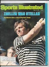 Fuzzy Zoeller Sports Illustrated April 23 1979 ~ Masters Golf Was Stellar
