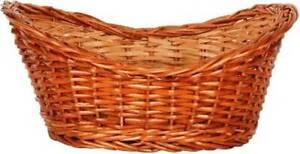 unique Cane Basket Bamboo Fruit & Vegetable Basket  (Brown)