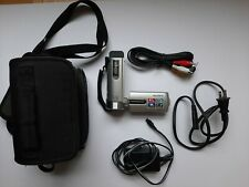 Sony DCR-SX21 Handycam with 8GB SD Card, Charger, Case and Battery