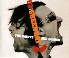 U2 and GREEN DAY The saints are coming 2 TRACK CD  NEW - NOT SEALED