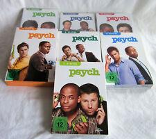 Psych die komplette Staffel 1 + 2 + 3 + 4 + 5 + 6 + 7