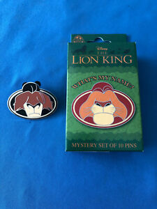 LION KING Disney Pin CAST MEMBER exclusive WHATS MY  NAME TAG  SCAR    2020