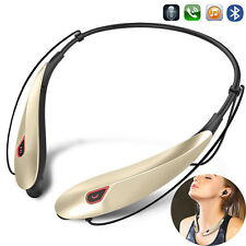 Wireless Bluetooth Headset Stereo Earphone With Mic for Samsung S9 S8 S7 S6 S5 4